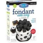 Satin Fine Foods . SFF Black Fondant 24 Oz (680G)