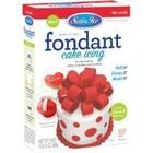 Satin Fine Foods . SFF Red Fondant 24oz (680G)