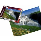 Trefl (puzzles) . TRF Golden Falls Iceland 1000Pc Puzzle