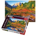 Trefl (puzzles) . TRF Maroon Lake Aspen 1000Pc Puzzle