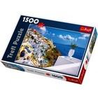 Trefl (puzzles) . TRF Santorini Greece 1500Pc Puzzle