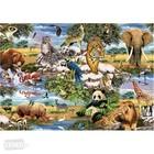Trefl (puzzles) . TRF World Animals Puzzle 1000Pc