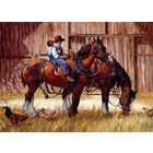 Cobble Hill . CBH Back To The Barn 1000Pc Puzzle