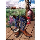 Cobble Hill . CBH Boots 1000Pc Puzzle