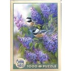 Cobble Hill . CBH Chickadees And Lilacs 1000Pc Puzzle