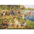 Cobble Hill . CBH Family Picnic 1000 Pc Puzzle