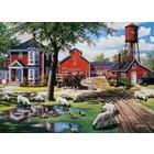 Cobble Hill . CBH Farmyard Companions 1000 Pc Puzzle