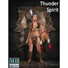 Masterbox Models . MTB 1/24 THUNDER SPIRIT INDIAN PIN UP GIRL