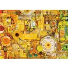 Cobble Hill . CBH Yellow 1000Pc Puzzle