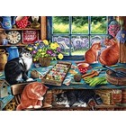Cobble Hill . CBH Cats Retreat 275Pc Puzzle