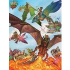 Cobble Hill . CBH Dragon Flight 400Pc Family Size Puzzle
