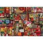 Cobble Hill . CBH Vintage Art Supplies 2000Pc Puzzle