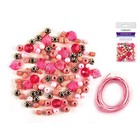 MultiCraft . MCI Acrylic Bead Kit Pink