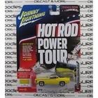 Johnny Lightning . JNL 1969 Dodge Super Bee (Hot Rod Power Tour) Yellow with Black Stripes