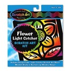 Melissa & Doug . M&D M&D FLOWER LIGHT CATCHER SCRATCH ART