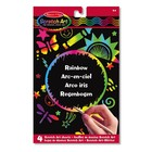 Melissa & Doug . M&D RAINBOW SCRATCH ART