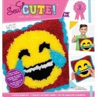 Colorbok . COK Laugh Tear-Sew Cute Latch Hook
