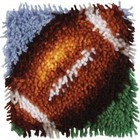 Caron . CAR Football Latch Hook