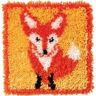 Caron . CAR Little Fox Latch Hook