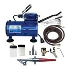 Paasche Airbrush Company . PAS Airbrush & Compressor Package: HSET, D500SR, & AC7