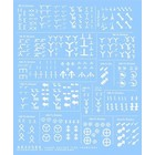 Archer Fine Transfers . AFT 1/35 German Heere Division Signs (White) (D)