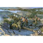 AFV Club Hobby Fan . AFV 1/35 WWII Late 105mm Howitzer M2A1 & M2A2 Carriage