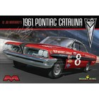 Moebius Models . MOE 1/25 Lil Joe Weatherly's 1961 Pontiac Catalina Stock Race Car