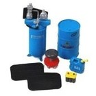 Phoenix Toys . PHO 1/24 Garage Accessories: Barrels, Stool, Gas Container, Battery etc
