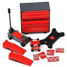 Phoenix Toys . PHO 1/24 Garage Accessories: Tool Chest, Hand Tools, Creeper, Jack, Ramps, Generator