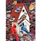 Cobble Hill . CBH Winter Birdhouse Puzzle