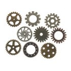 SOLID OAK . SDO STEAMPUNK GEARS