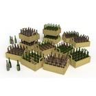 Miniart . MNA 1/35 Beer Bottles & Wooden Crates