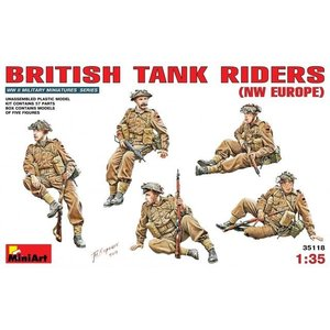 Miniart . MNA 1/35 British Tank Riders NW Europe