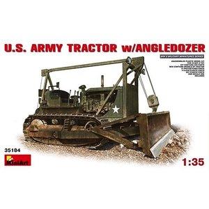 Miniart . MNA 1/35 Us Army Tractor W/Angle Dozer