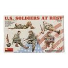 Miniart . MNA 1/35 U.S. Soldiers At Rest