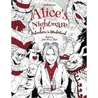 One Time Temp Deals (PM) . ONE Alice's Nightmare - Adventures in Wonderland - Adult Coloring Book