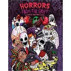 One Time Temp Deals (PM) . ONE Adult Coloring Book: Horrors from the Crypt: An Outstanding Illustrated Doodle Nightmares Coloring Book