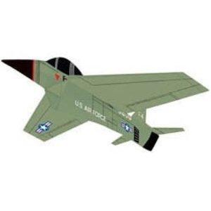 "Gayla Industries . GAL 46""x35"" Top Gun Airplane 3D Nylon Kite"