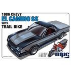 MPC . MPC 1/25 86 El Camino SS with Dirt Bike