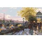"Plaid (crafts) . PLD Paris Eiffel Tower Paint by Number (20""x16"")"