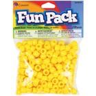 Cousins Corporation . CCA Yellow Cousin Pony Beads