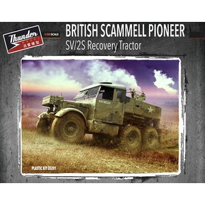 Thunder Models . THM 1/35 British Scammel Pioneer SV/2S Recovery Tractor