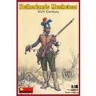 Miniart . MNA 1/16 Netherlands Musketeer Xvii Century