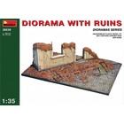 Miniart . MNA 1/35 Diorama W/Ruins