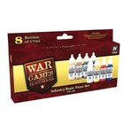 Vallejo Paints . VLJ Infantry Basic<br /> Paint Set (8Pc/Set)