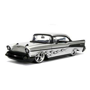 Jada Toys . JAD 1/24 1957 Chevy Bel Air - Silver