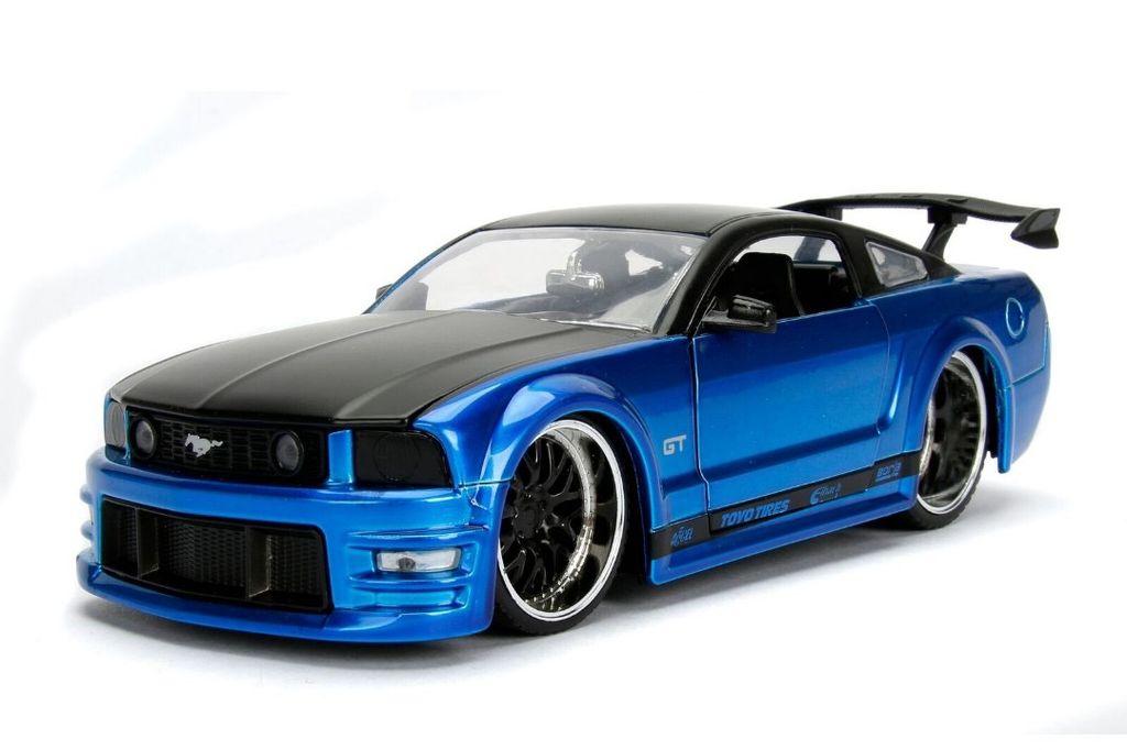 Jada Toys Jad  Ford Mustang Gt Blue