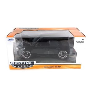 Jada Toys . JAD 1/24 2010 Chevy Tahoe - Glossy Black