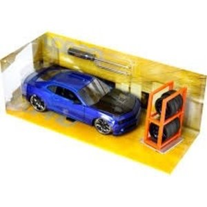 Jada Toys . JAD 1/24 2010 Chevy Camaro SS - Blue