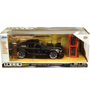 Jada Toys . JAD 1/24 2008 Ford Shelby GT500KR - Black